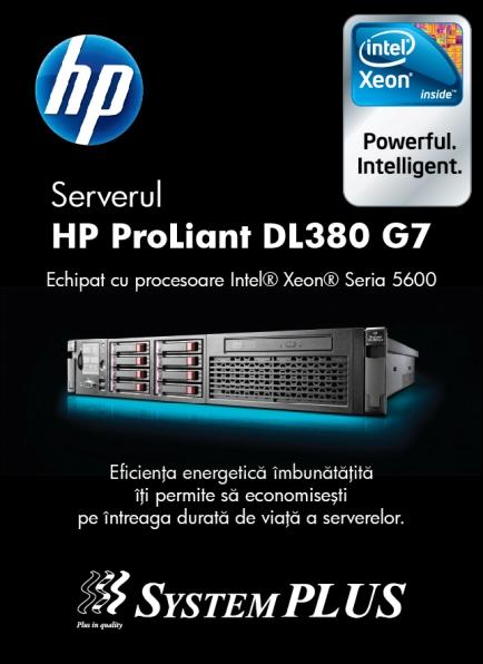 System Plus lanseaza HP Proliant G7
