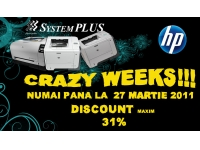 System Plus - partener HP, DELL si EMC in Romania  : Crazy Weeks