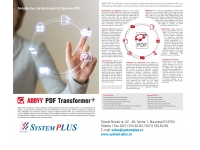 System Plus - partener HP, DELL si EMC in Romania  : ABBYY PDF Transformer+