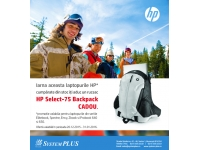 System Plus - partener HP, DELL si EMC in Romania  : HP Select - 75 Backpack CADOU!