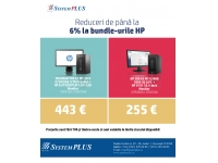 System Plus - partener HP, DELL si EMC in Romania  : Reduceri de pana la 6% la bundle-urile HP!